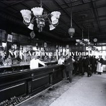 Image of NCR.1998.0753.058 - Glass-Plate Negative - Bars - O'Rourke Bar  Corner  22nd and 11 Ave - New York City, NY -  80 1/2-EL