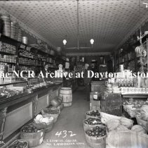 Image of NCR.1998.0759.097 - Glass Plate Negative - Grocery - C.T. Schwier - 1401 E. Washington - Louisville, KY  104-4