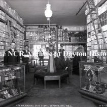 Image of NCR.1998.0768.053 - Glass Plate Negative  - Shoes -  G. H. Wilkinson's Shoe Store, Windsor, ON, Canada 92-6