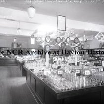 Image of NCR.1998.0772.010 - Glass Plate Negative  -  L.R. Steele & Co., Goodrich ON, Canada  Interior  February 1921