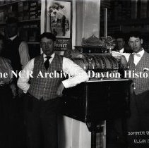 Image of NCR.1998.0773.025 - Glass Plate Negative --Tailors -Sommer Bros - Elgin, OR - Register No. 1