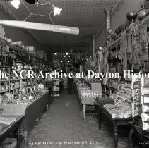 Image of NCR.1998.0773.027 - Glass Plate Negative --Fancy goods and gifts  - W.R. Henders Fancy Goods - Port Arthur, ON, Canada - 92-4