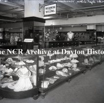 Image of NCR.1998.0775.018 - Glass Plate Negative --Department Store --Bullock's, Los Angeles, CA  Neckwear March 29, 1920