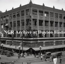 Image of NCR.1998.0775.020 - Glass Plate Negative - Department Store - J. Blach & Sons, Exterior B,  Birmingham, AL  September 6, 1922