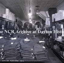 Image of NCR.1998.0775.021 - Glass Plate Negative - Department Store - L. Briegs Clothiers, Perth Amboy, NY  106-6
