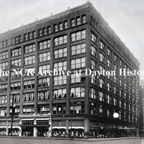Image of L. S. Ayres Dept. Store, Indianapolis, In.- Exterior