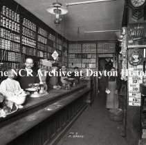 Image of NCR.1998.0775.060 - Glass Plate Negative -- Grocery Store - M. Jorers