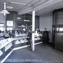 Image of NCR.1998.0775.072 - Glass Plate Negative - Dairy - Clearfield Butter & Egg Co., Broadway & Decatur - 79