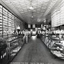 Image of NCR.1998.0777.025 - Glass Plate Negative -- Department Store - Z. E. Hombeck, The Fair, Fowler, IN