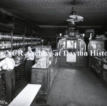 Image of NCR.1998.0788.004 - Glass Plate Negative -- Drug Store -- Paul A. Zito Drugs  1952 Archer Ave  P. CA  36  106-6