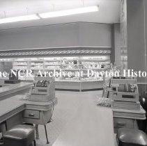 Image of Sanders Self-Service Bakery, Detroit MI, March 23,1954