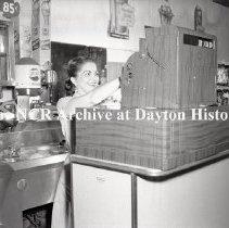 Image of NCR.1998.0809.050 - Safety Negative - Restaurants - Bailers Big Momma Restaurant, Cincinnati, OH June 19, 1952