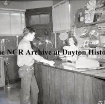 Image of NCR.1998.0809.076 - Safety Negative - Restaurants - Dunn's Coffee Shop - Laramie, WY - April, 3, 1952
