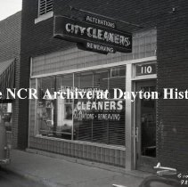 Image of NCR.1998.0812.031 - Safety Negative - City Cleaners- Fort Smith, AR - November 16, 1950