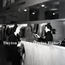 Image of NCR.1998.0821.171 - Film Negative - Department Stores - The Emily Store, Cashier, 37th & 5th Ave., New York City, NY, February 10, 1950