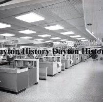Image of Grandway Store - Cashier Line - Paramus, NJ - April 25, 1961
