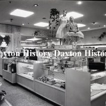 Image of NCR.1998.0822.161 - Film Negative - Department Stores - Hinshaw's Dept. Store - Interior - Whittier, CA - March 26, 1961