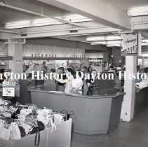 Image of NCR.1998.0824.083 - Film Negative - Department Stores - Wilmers Department Store, Cashiers, Hamilton, OH, May 22, 1951