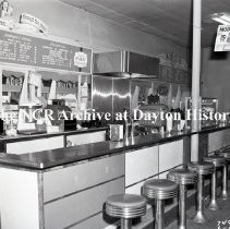 Image of NCR.1998.0827.068 - Film Negative - Drug Stores - Wood Drug Store - Soda Fountain - Norfolk, VA  - June 18, 1951