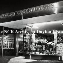 Image of NCR.1998.0827.243 - Film Negative - Florists - Bergen Greenhouse, Exterior, Yonkers, NY November 10, 1959