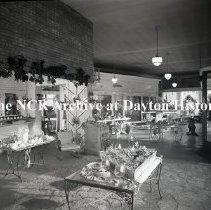 Image of NCR.1998.0827.263 - Film Negative - Florists - Schiller Flower Shop, Interior, Chicago, IL November 30, 1950