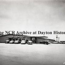 Image of NCR.1998.0828.208 - Film Negative - Grocery - Hyvee Grocery, Exterior, Des Moines, IA May 26, 1961