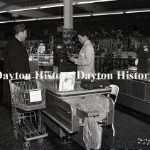 Image of NCR.1998.0829.198 - Film Negative- Hardware - Vincenne's Hardware Store, Cashier, Chicago, IL. April 4, 1952