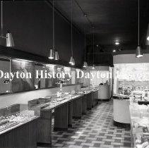 Image of NCR.1998.0831.089 - Film Negative - Jewelry Stores - Morgan's Diamond Shop - Interior - Minneapolis, MN - March 3, 1952