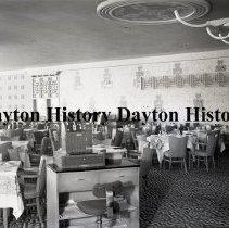Image of NCR.1998.0831.184 - Film Negative - Hotels - Saxony Hotel - Dining Room - Miami Beach, FL - April 12, 1950