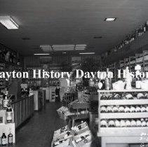 Image of NCR.1998.0832.087 - Film Negative - Liquor Stores - Horseneck Liquor Corp, Interior, Greenwich, CT - March 8, 1954