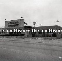 Image of Carillon Cafeteria - Entrance, Dayton, OH  November 29, 1957