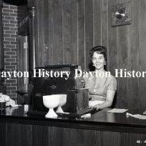 Image of NCR.1998.0833.092 - Film Negative- Restaurants - Four Winds Restaurant, Kansas City, KS  February 11, 1966