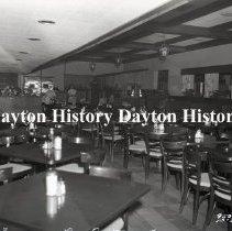 Image of NCR.1998.0833.154 - Film Negative- Restaurants - Ledo Restaurant, Dining Area, Hyattsville, MD, October 2, 1959