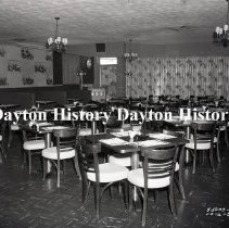Image of Dino Restaurant, Dining Room, Suitland, MD, October 2, 1959