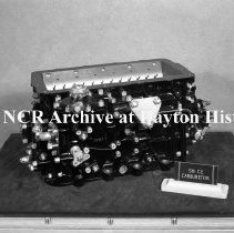Image of NCR.1998.0913.213 - War Work - Photos Of All Products In The War Room On 10th Floor Of Building #10 - 58 CE Carburetor, Dayton, OH October 20, 1943