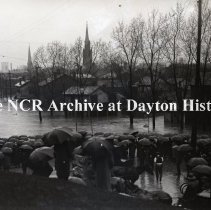 Image of NCR.1998.1097.027 - Glass Plate Negative - 1913 Flood - Dayton, OH