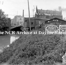 Image of Canal west of RR South of 5th-Dayton July 30,1912