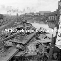 Image of Canal near RR north of 3rd-Dayton July 30, 1912