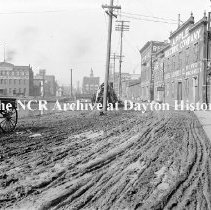 Image of East side of canal north of 3rd-Dayton No Date