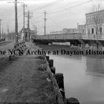 Image of Main St. Canal Bridge-Dayton March 22, 1911