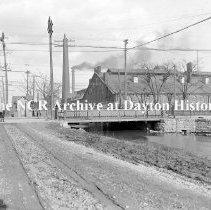 Image of Keowee St. Canal Bridge- Dayton March 22, 1911
