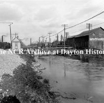 Image of Taylor St. Canal Bridge- Dayton March 22, 1911
