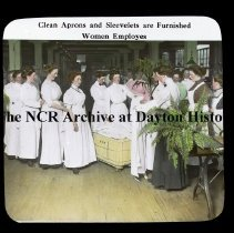 Image of NCR - Aprons & sleevelets are furnished, Dayton, OH