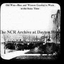 Image of NCR-Old way-Men & Women to work at same time, Dayton, OH