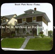Image of NCR - South Park Home - Circa 1920, Dayton, OH