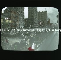 Image of NCR.1998.CD24.09 - Lantern-slides -  Knights Templar parade - October 1911 - Dayton, OH
