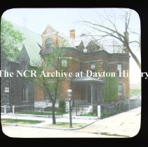 Image of NCR.1998.CD24.16 - Lantern-slides -    Parsonage of 2nd Presbyterian Church - Dayton, OH  