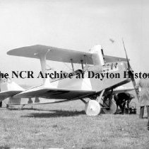 Image of NCR.1998.CD36.19 - Nitrate film - N. A. A. races - Wright Field - Dayton, OH - October 2, 1924 Exterior
