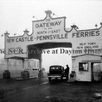 Image of NCR.1998.CD36.36 - Nitrate film - Denver, CO - New Jersey Ferry Co. Jan. 11, 1935 Exterior