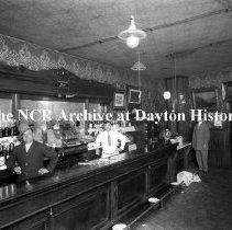 Image of NCR.1998.CD41.28 - Glass negatve -  Bars - C. D. Stevens-Williams & Washington- Dayton, OH Interior
